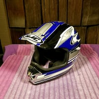 Motorcycle helmet blue size small Rancho Cucamonga, 91701