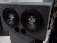 black and grey subwoofer box Moreno Valley, 92557