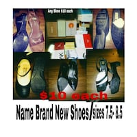 assorted color of shoes collage San Antonio, 78228