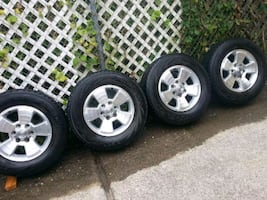 Toyota Sequoia 17in rims and tires