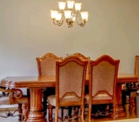 Dining Room Table 8 Chairs 4 Leaves Brush Prairie, 98606