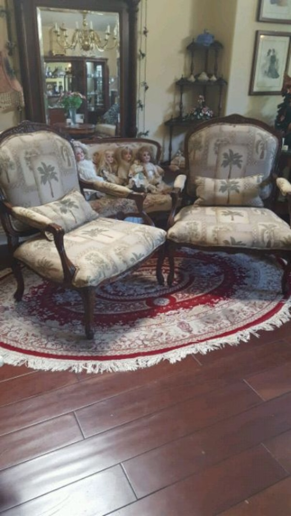 2-Antique Arm Chairs