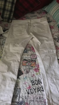All white Levi's for cheap. up for trades