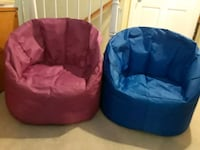 two red and blue bean bags Brentwood, 94513