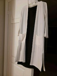 white scoop neck long sleeve dress Vaughan, L4H 2L3