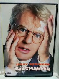 Jerry Springer in Ringmaster dvd