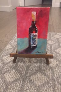 Wine painting with easel New Westminster, V3M 2R3