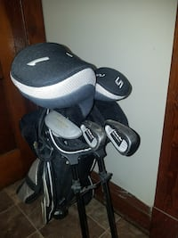 Low torque golf clubs and bag