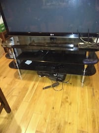 3 tier black glass tv stand. Pick up only Hamilton 505 km