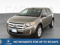 2013 Ford Edge suv SEL Sport Utility 4D Beige  Fort Myers