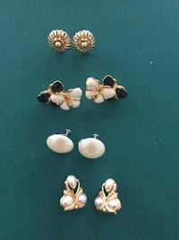 Four pair of earrings- 1 Woodbridge, 22191
