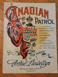 Canadian Patrol For Piano Copyright 1911 By Arthur Newmarket, L3Y 3J3