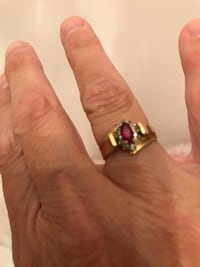 Gold ruby and diamond ring  Dillsburg, 17019