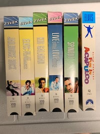 Rock and Roll with this Elvis VHS bundle. Rock out with The King. Toronto, M9B 0A2