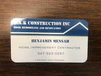 Home remodeling New York, 10455