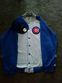 Cubs jacket with matching hat Indianapolis, 46250