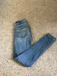 american eagle ripped super skinny Carolina Beach, 28428