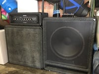Carvin  Bass Amp Full Stack Hermosa Beach, 90254