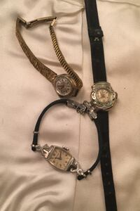 Vintage watches for parts. They do not wind  Akron, 44319