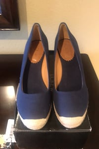 JCrew Espadrille 8.5 Navy Blue Shoes Downey, 90240