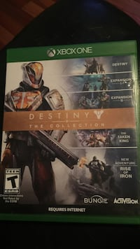 Xbox one destiny the collection game