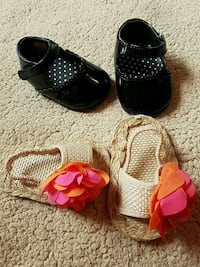 Size 1 baby girl shoes Odessa, 79763