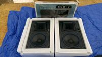 Two in the wall surround sound speakers Bakersfield, 93307