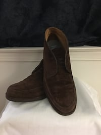 D.Royce II Made in Italy Men's Shoes, size 9 1/2, no lace, excellent condition, BROWN Virginia Beach, 23462