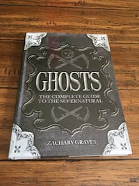 Ghosts by Zachary Graves book Hamilton
