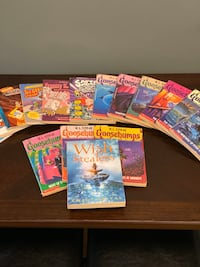 GOOSEBUMPS AND OTHER GREAT KIDS BOOKS GREAT DEAL