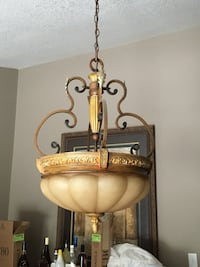 3 large pendant lights $75 each North Dumfries, N1R