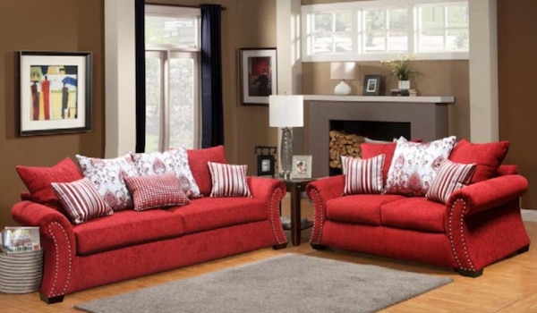 Used Grand Opening Sams Furniture Sofa Love For Sale In North