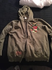 Ed hardy hoodie size L Englewood, 80113