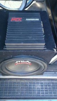 """12"""" mtx subwoofer and amp  Lakewood, 90715"""