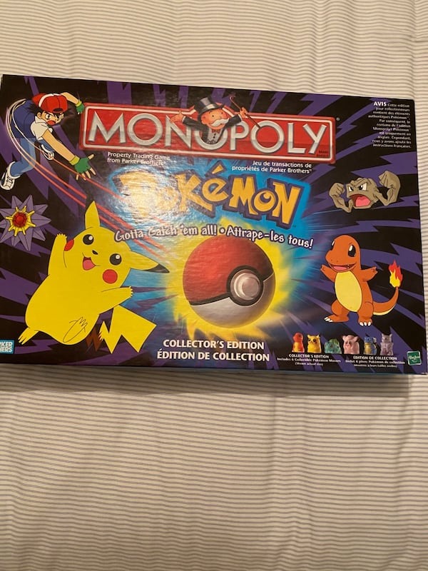 Pokeman Monopoly Board Game  2