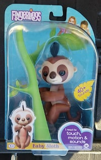 Fingerlings  RARE FIND Baby Sloth