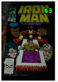 Iron Man Comic Book $1 Millvale, 15209