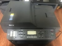 Brother Printer MFC8710DW Wireless Monochrome Printer with Scanner, Copier and Fax,