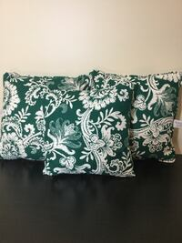 Waverly  home fashion green-and-white floral throw pillows 3 Upper Marlboro, 20774