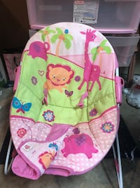 baby's pink and green bouncer Nederland, 77627
