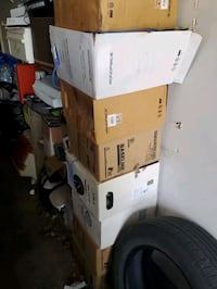 8 Boxes of Cat 5, 5e and 6 cable.