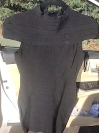 Brand new Bebe holiday dress In black -taking best offer -paid 150