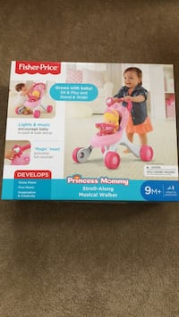 Fisher Price: stroll-along musical walker Merced, 95348