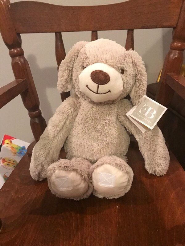 Elegant baby stuffed animal, New with tags!