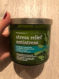 Brand New Bath and Body Works Candle - stress Relief Toronto, M4Y
