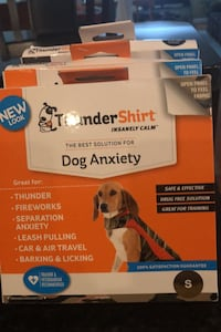 Thunder shirt for dog anxiety- 3  NEW -S, XS, ccs 20 each Silver Spring, 20905