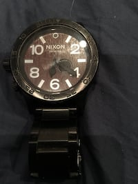 Wood face Nixon 51/30 men's watch $500 retail Burnaby, V5G 3X4