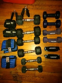 Small Gym Weights Set Boston