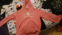 red and white pullover hoodie Saint Thomas, N5P 3L3