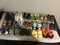 assorted pairs of shoes lot 544 km